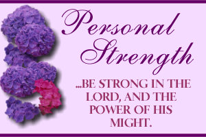 PERSONAL STRENGTH- Home Makers- Personal Strength